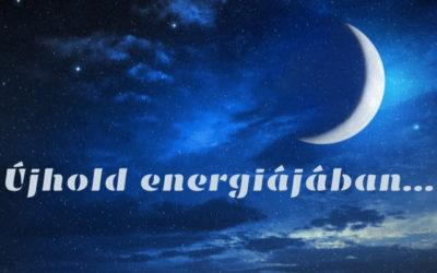 Újhold energiájában…