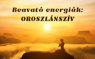Beavató energiák: OROSZLÁNSZÍV