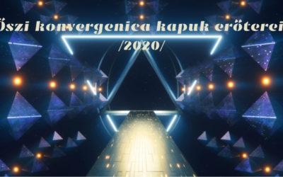 Őszi konvergenica kapuk erőterei /2020/